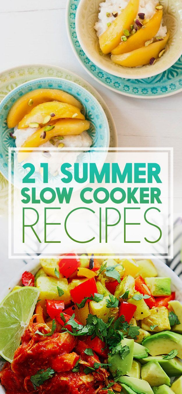 21 reasons to use your crock pot this summer crock pot cooker food forumfinder Choice Image