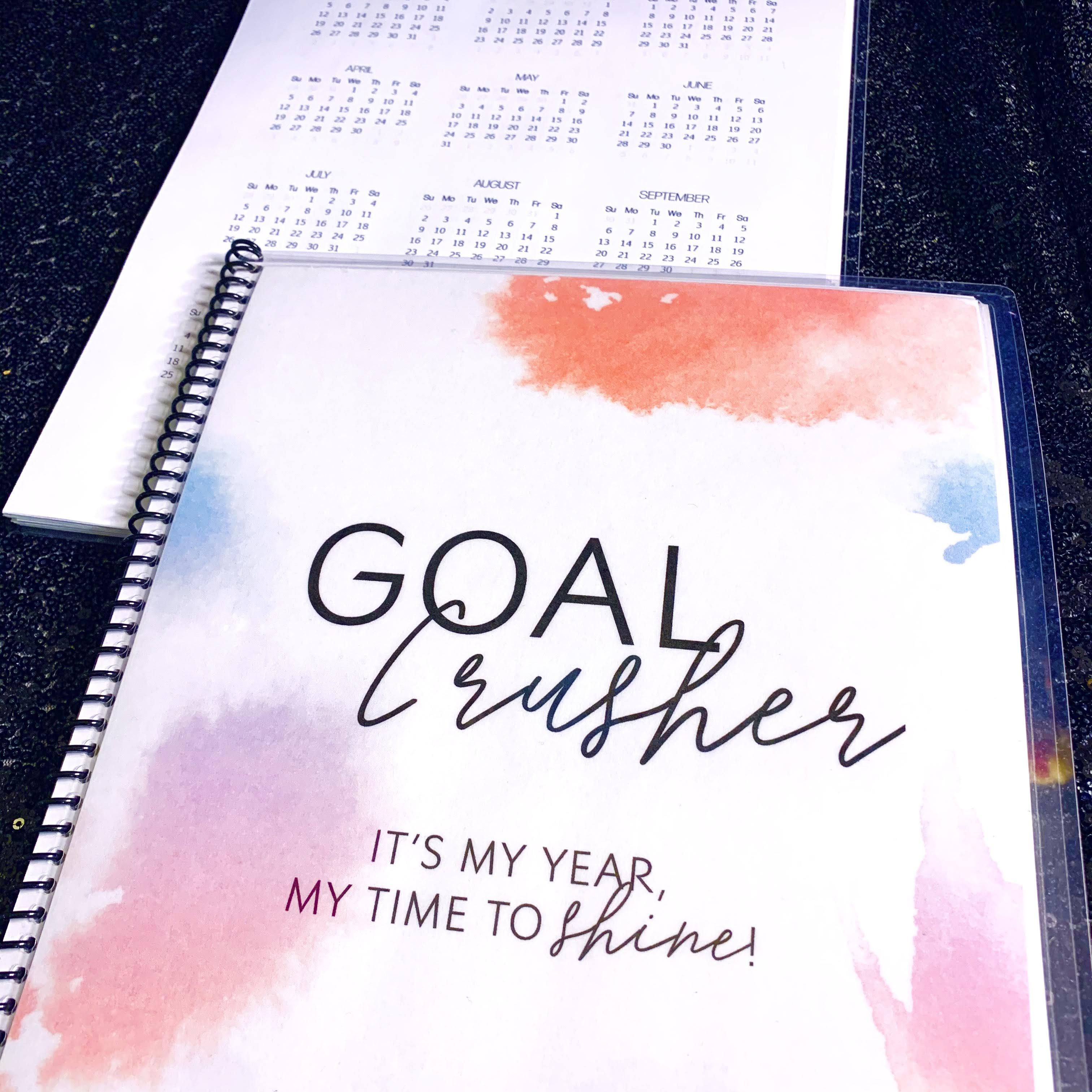 The Goal Crusher Planner Can Help You Set Goals And Make