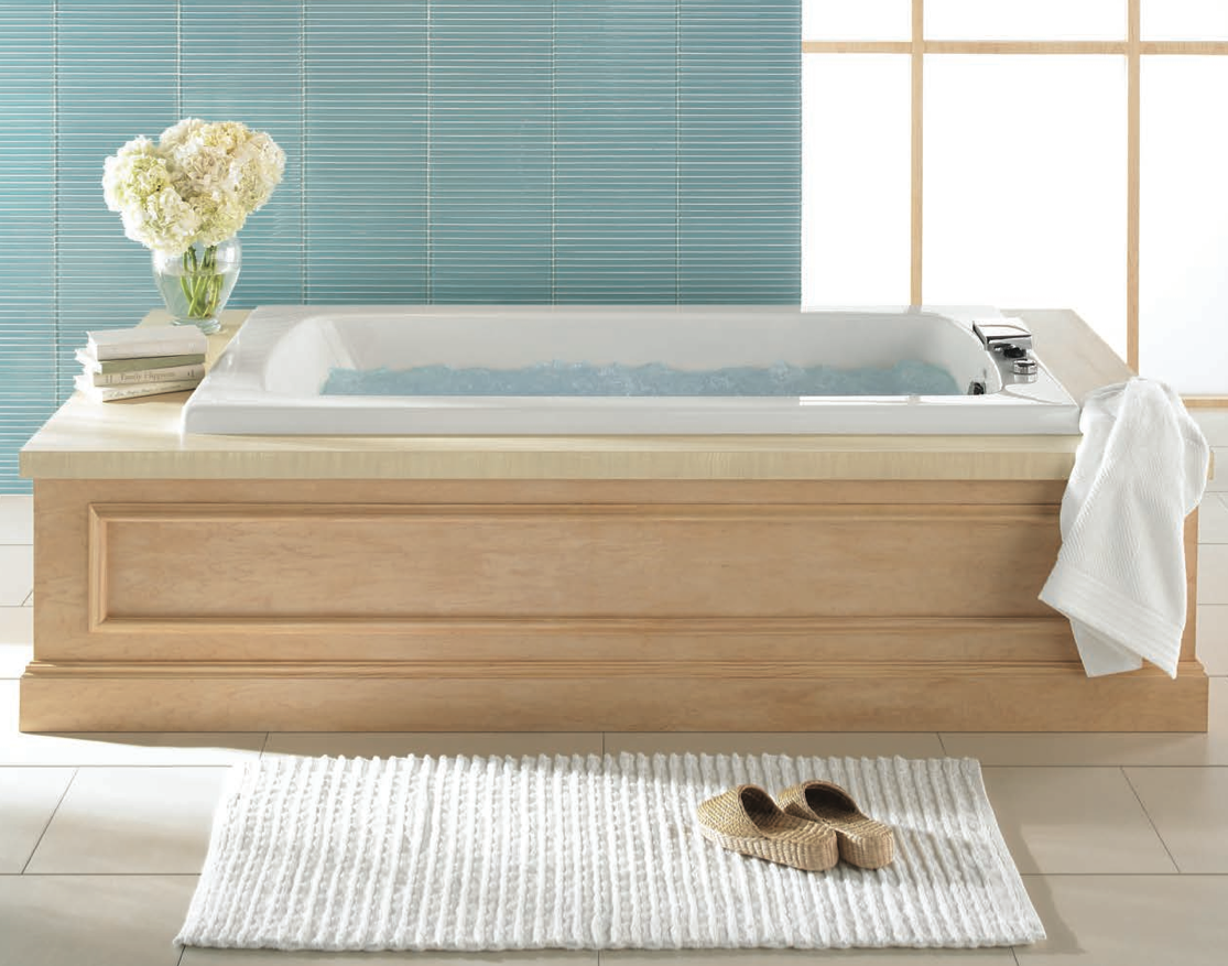 Jason International hydrotherapy tub with MicroSilk and AirMasseur ...