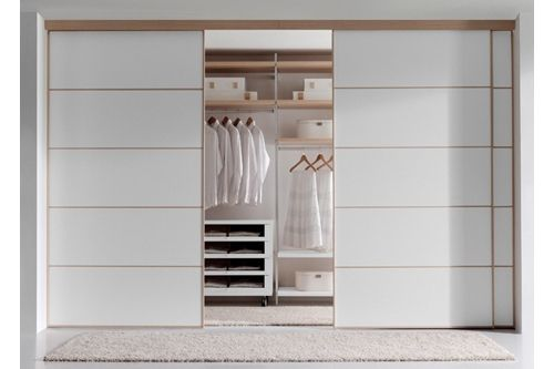 Armarios empotrados con puertas de cristal rdm - Como distribuir armario empotrado ...