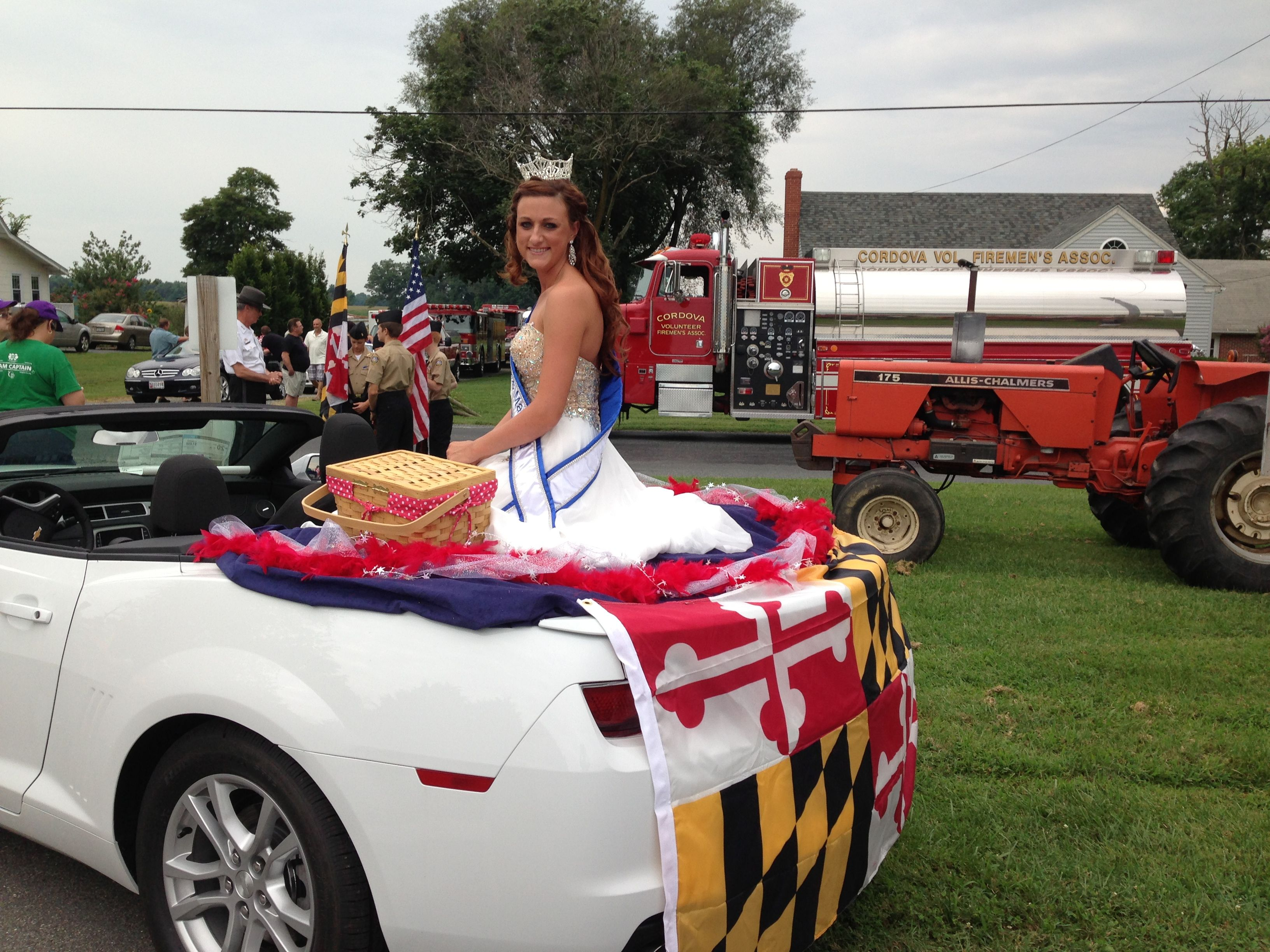 Miss Maryland Queen Parade Car Idea Homecoming Signs