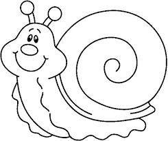 Resultado De Imagen Para Caracol Dibujo Animado Para Colorear E