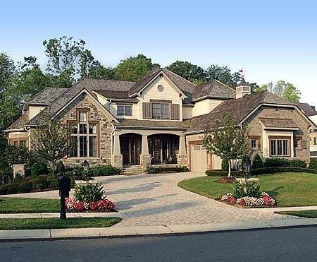 Plan 17532lv Award Winning Craftsman Manor House
