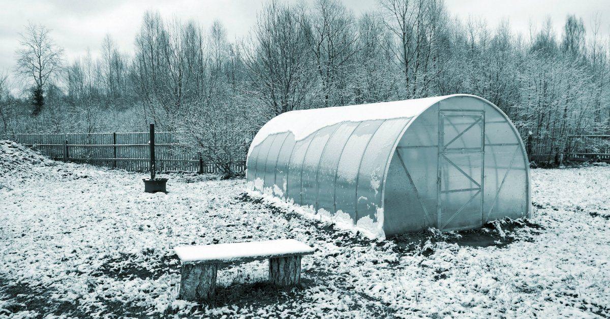 тепло ли в теплице зимой