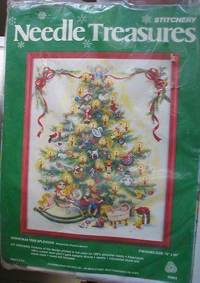Needle Treasures Christmas Tree Splendor Kit ~ Gerrish