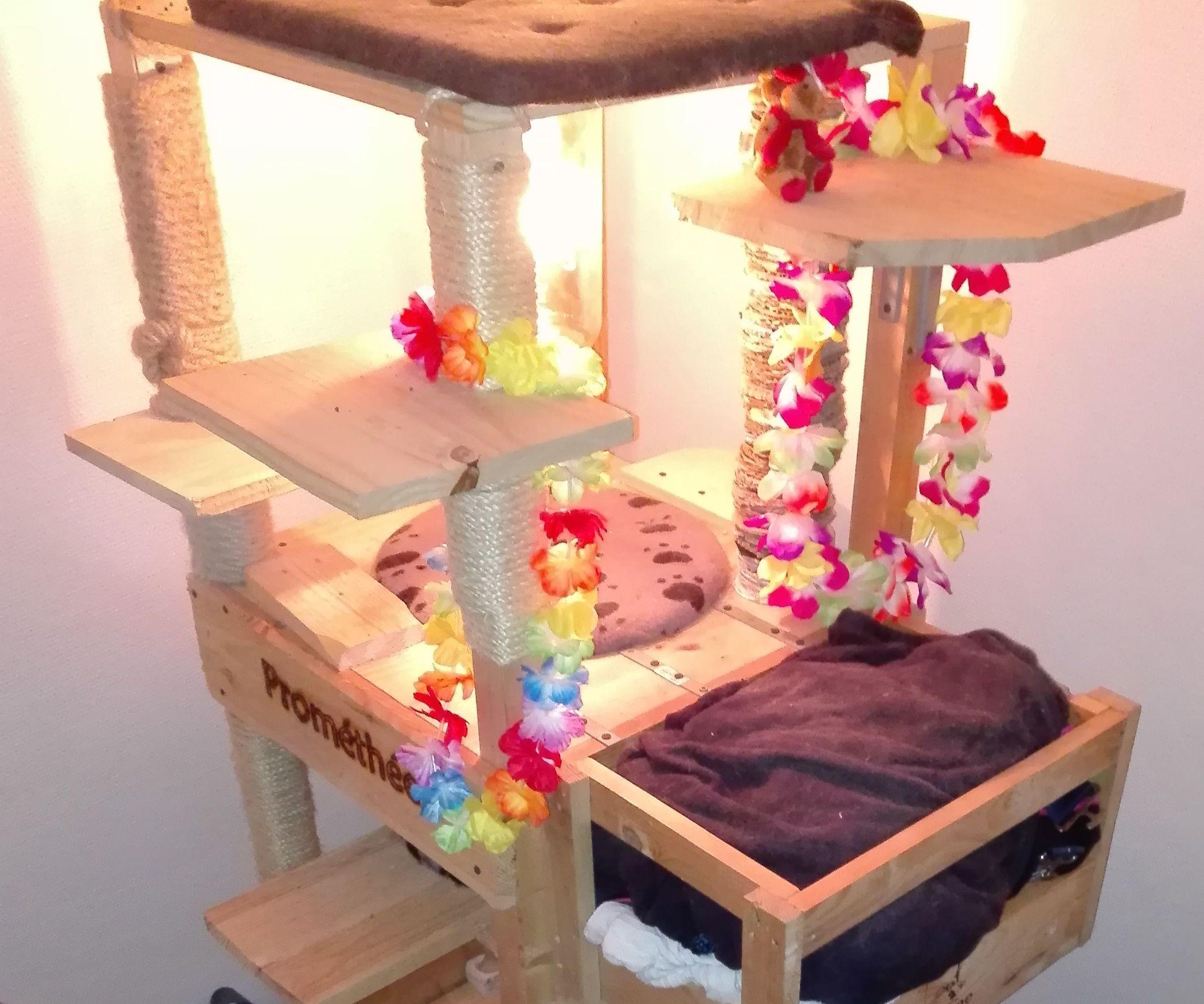 Build a very tall and sturdy cat tree cat tree cat