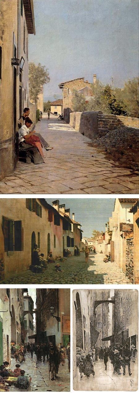 Telemaco Signorini (Italian, 1835-1901)