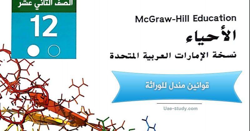 إن كنت تفتقد في نتائج البحث الحصول على حل درس قوانين مندل للوراثة فلاداعي للقلق فقط كل ماعليك هو الدخول على موقعنا و Mcgraw Hill Education Human Genome Lesson