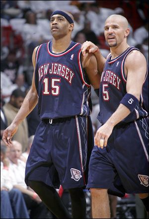 626927ea616 Jason Kidd   Vince Carter  Nets
