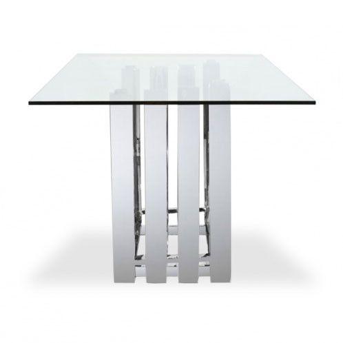 Spectral Dining Table Base   Polished Stainless Steel, Modern Design   Scan  Design Furniture  