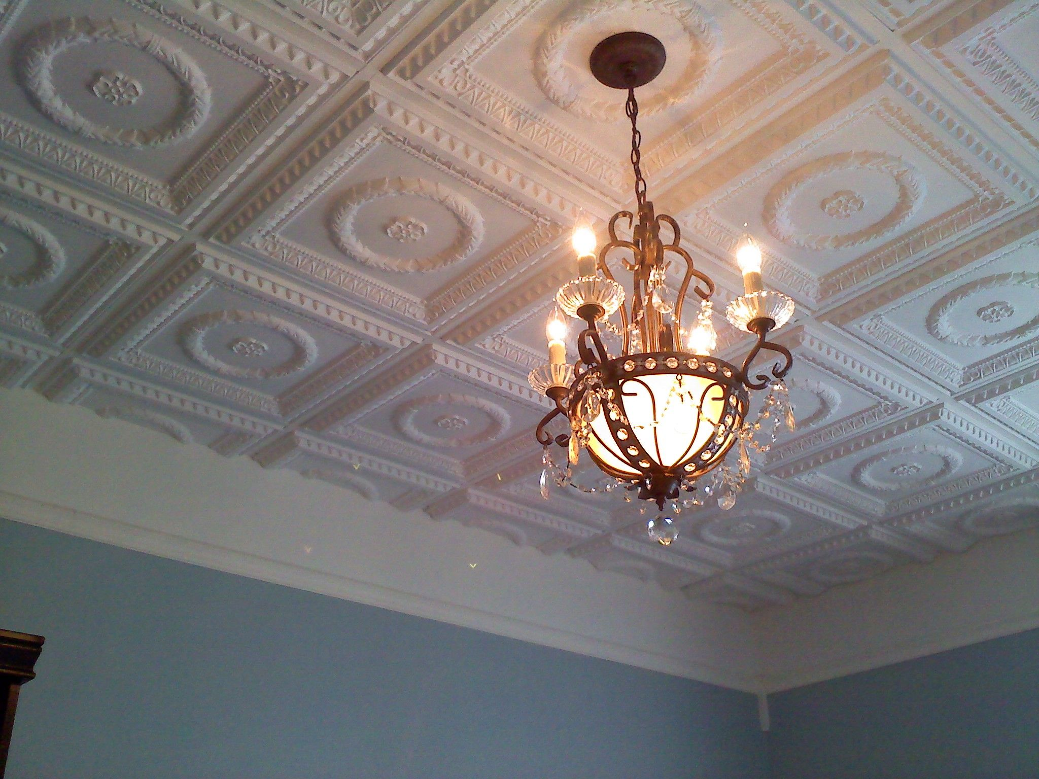 Faux Tin Ceiling Tiles in Glen Cove