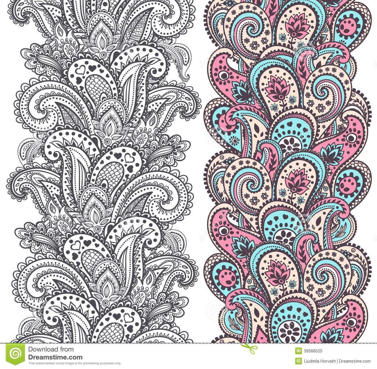 henna - google 搜尋 | illustration, zentangle muster und mehndi