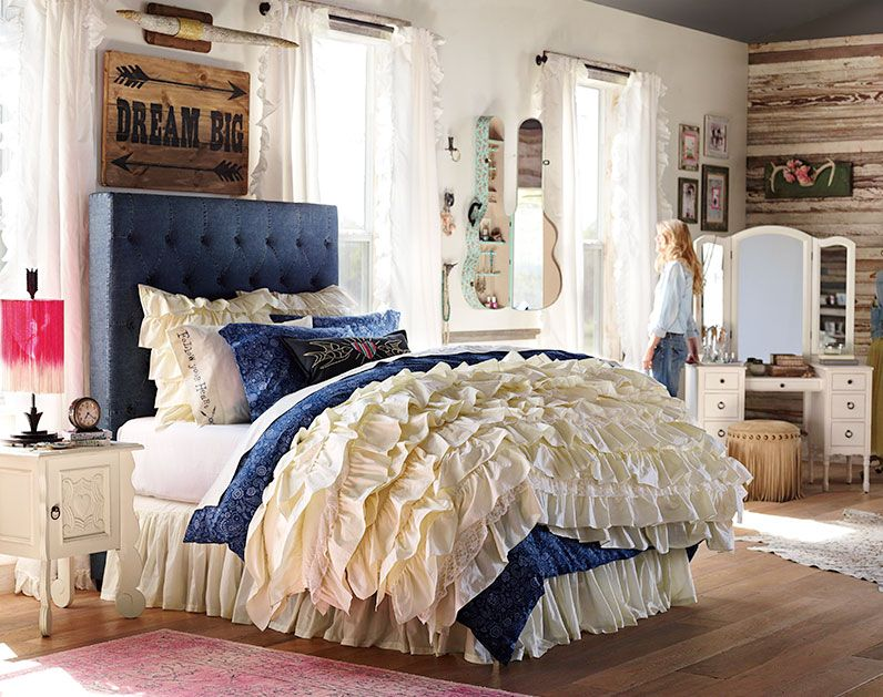 Teenage Girl Bedroom Ideas | Whimsy | PBteen
