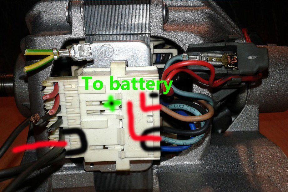 Washing Machine Motor Wiring Basics Washing Machine Motor