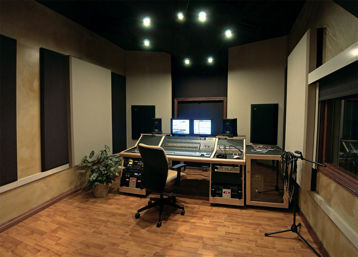 recording studio. Interior Design Ideas. Home Design Ideas