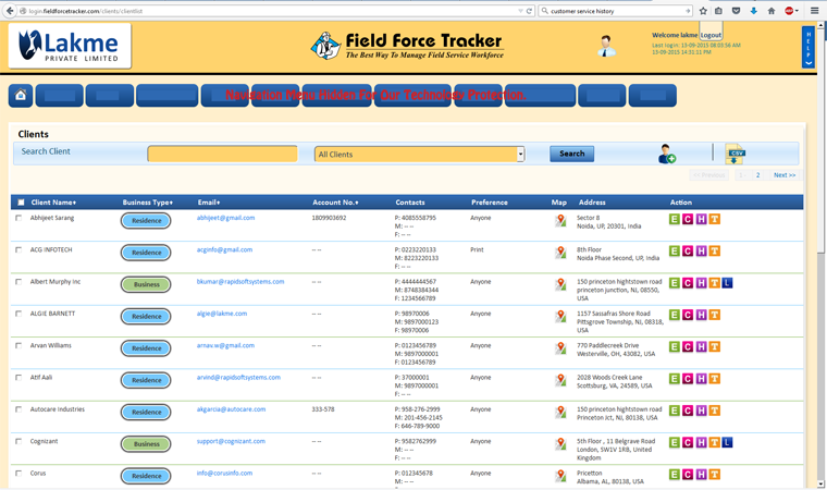 FFT field service tracking software manages your inventory