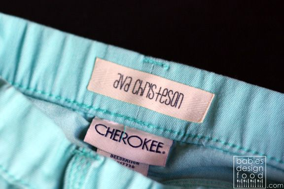 No Sew :: DIY :: Name Labels for Kid's School Clothes
