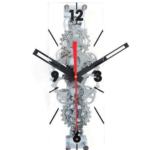 Moving Gear Clock Gear Wall Clock Wall Clock Modern Wall Clock Rectangular
