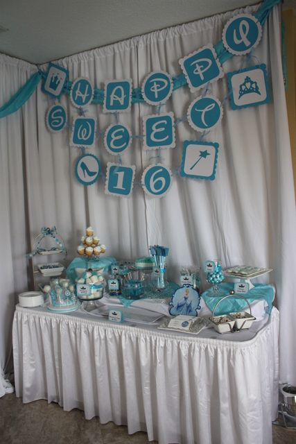 cinderella birthday party ideas sweet 16 princess party and
