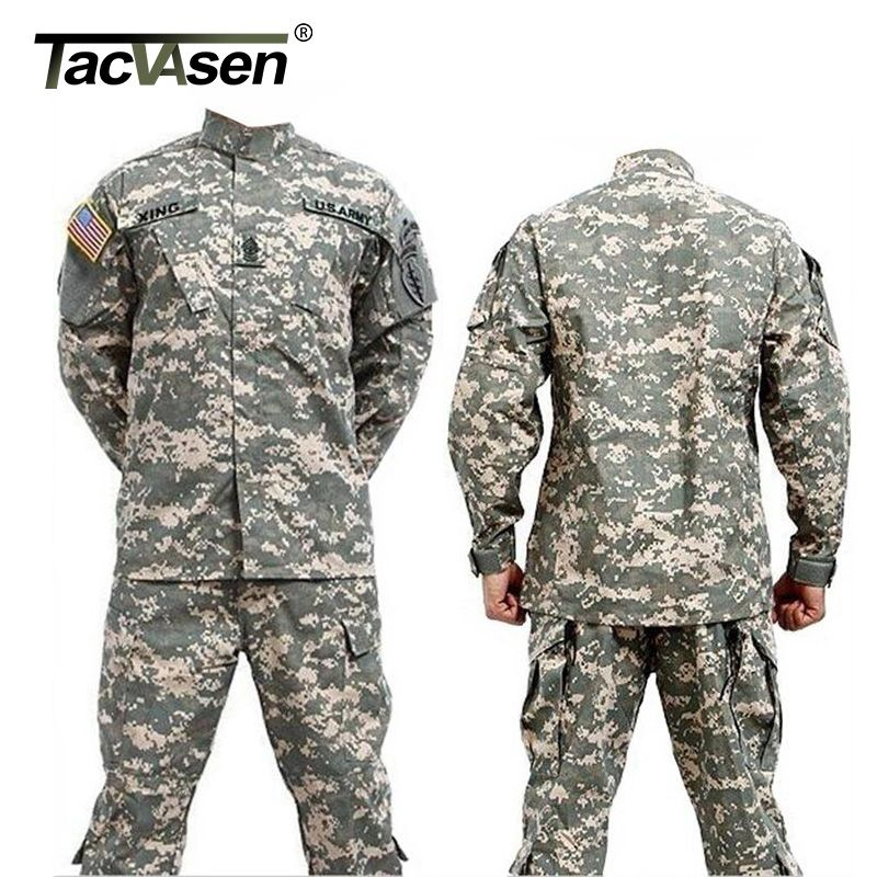 b253e18d8413a TACVASEN Men CS Paintball suit,Combat BDU Uniform,Military Uniform bdu,Hunt  Suit