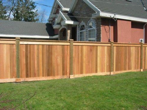Privacy Fences Quality Custom Cedar Fencing Cedar Fence Privacy Fences Backyard Fences
