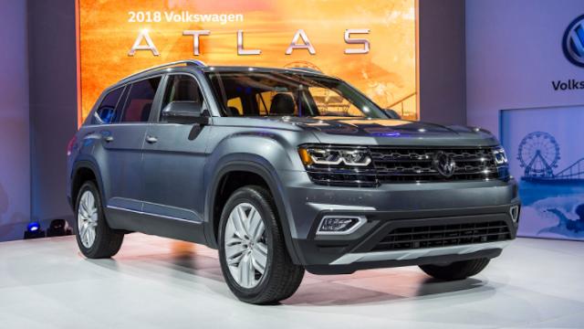 2019 Volkswagen Atlas Concept New Features Performance Cost