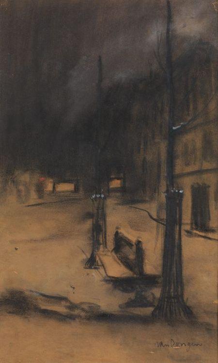 KEES VAN DONGEN  Place Ravignan (1901)