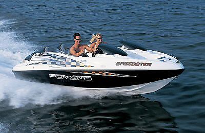 Sea Doo Speedster Jet Boat 2002 Rarely Used Good Condition Trailer