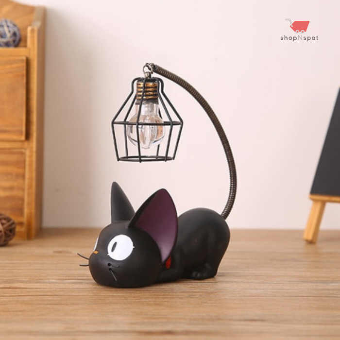 Mini Black Cat Night Light | Cat lamp, Night light, Decor crafts