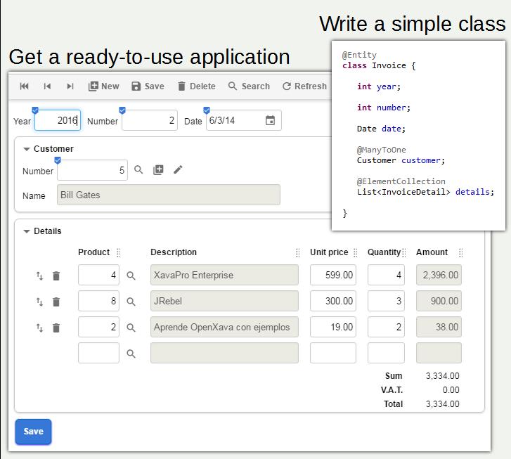 OpenXava is a ScriptCase alternative for Rapid Development of Web