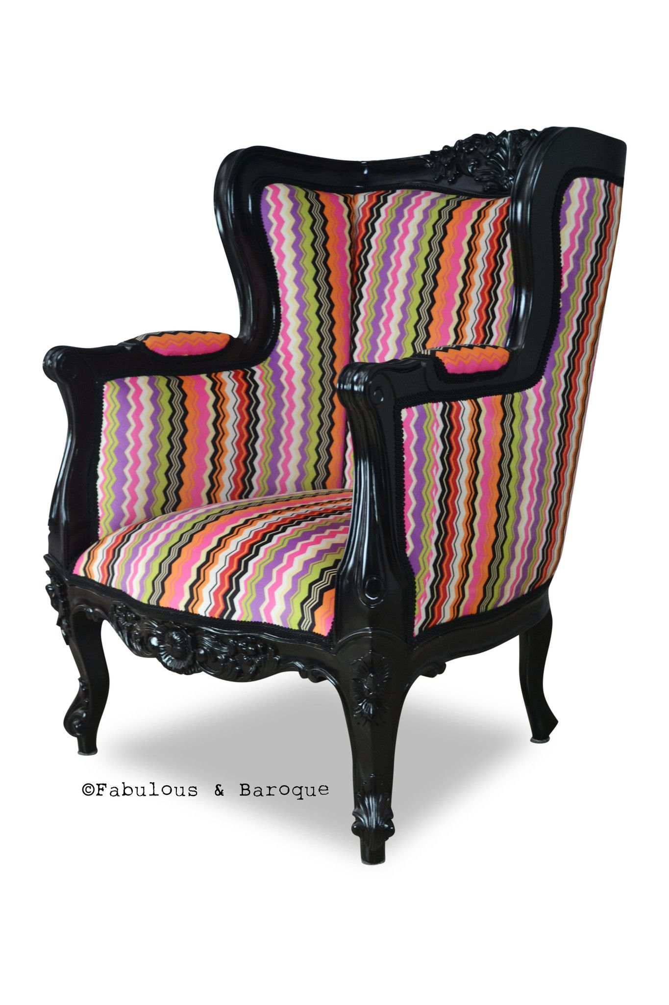 Aveline French Wing Back Chair - Multi Color - LIMITED ...