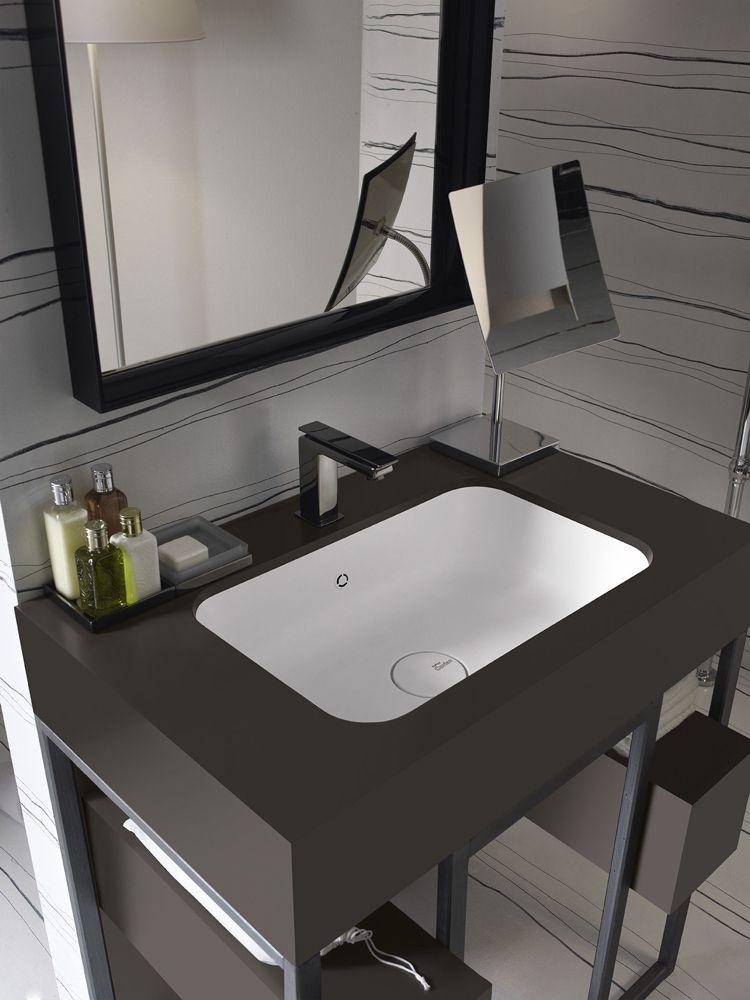 Badezimmer Klein | Design Handwaschbecken Badezimmer Modern Rechteckig Schwarz