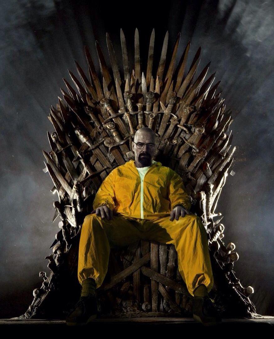 Walter White On The Iron Throne