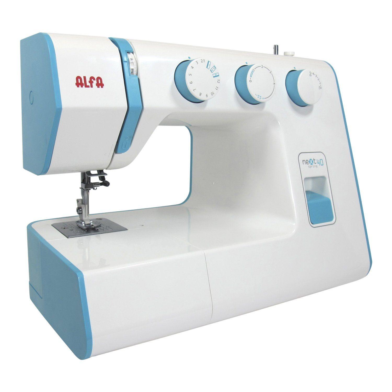 Alfa NEXT 40 Spring - Máquina de coser con 25 puntadas