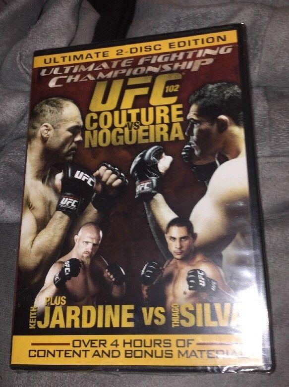 UFC 102: Couture vs. Nogueira (DVD, 2009, 2-Disc Set) BRAND NEW, SEALED  | eBay