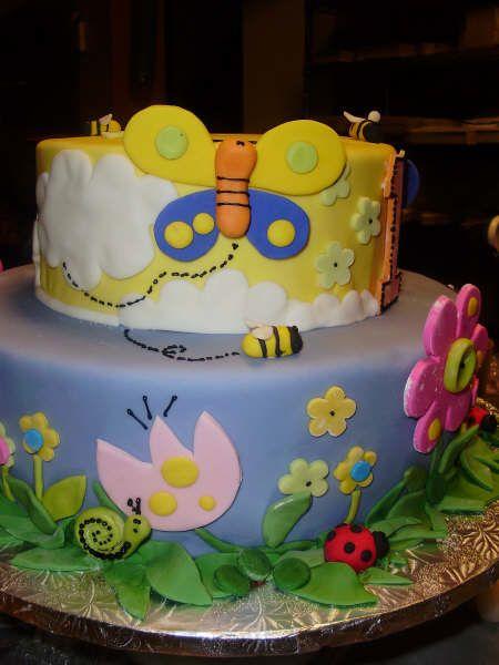 Tortas decoradas con mariposas imagui tortas for Tortas decoradas faciles