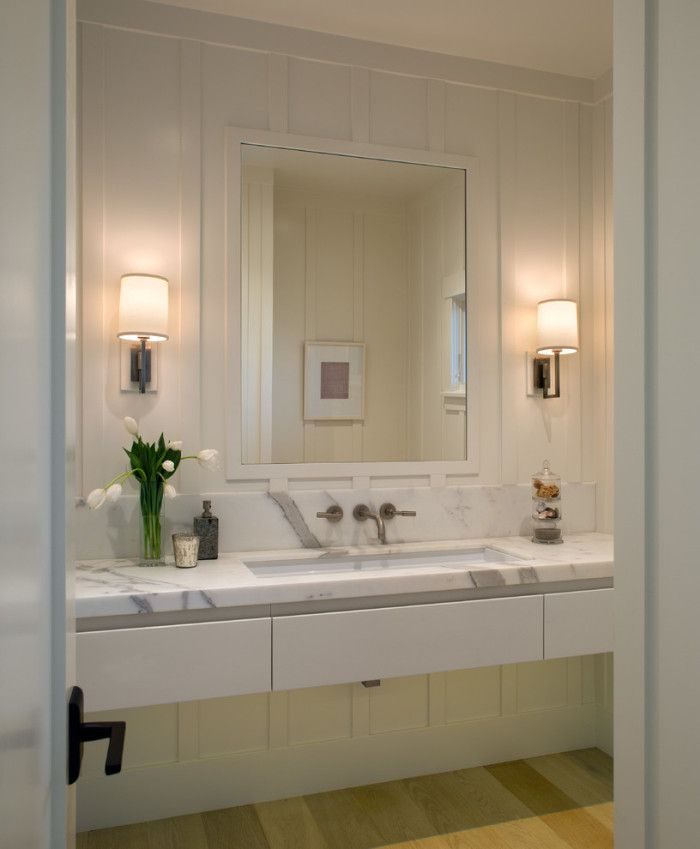 Ada Compliant Bathroom Vanity In Transitional With Bathroom And