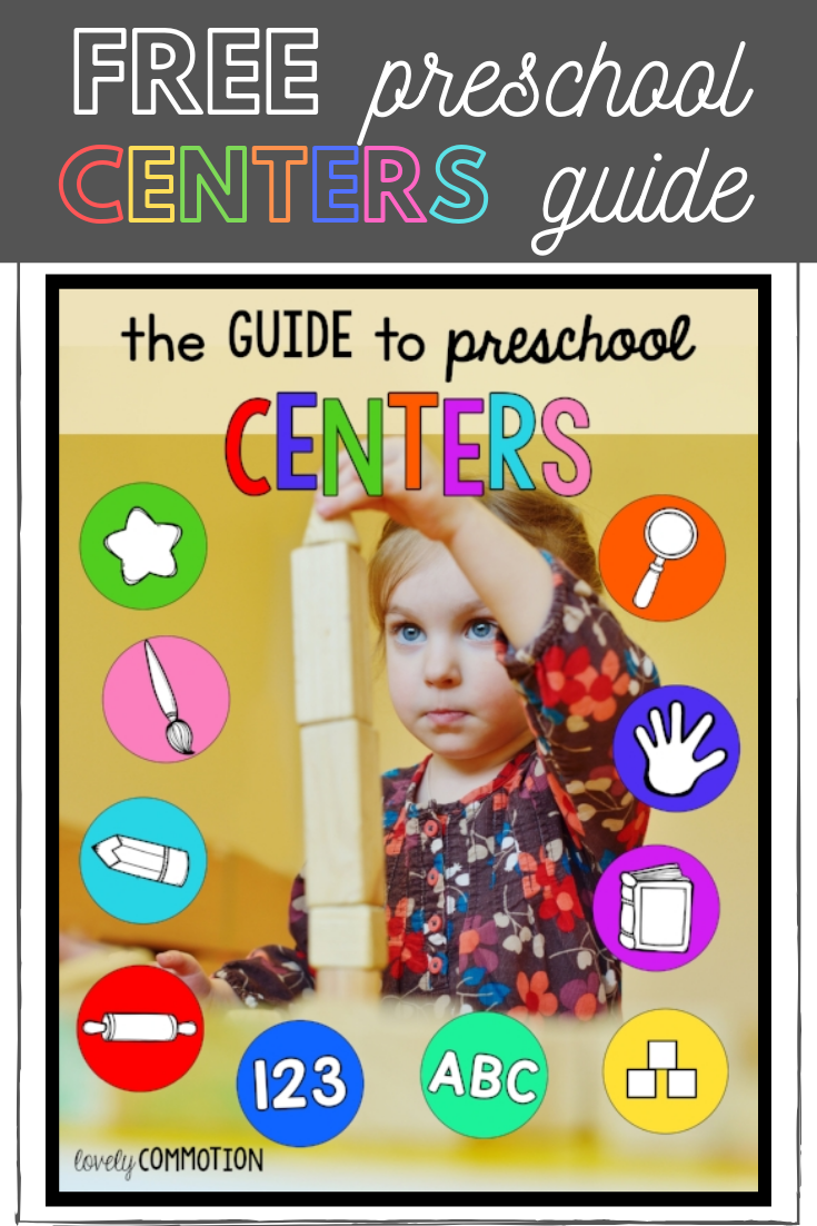 Preschool Centers — Lovely Commotion Preschool Activities , Games and Resources