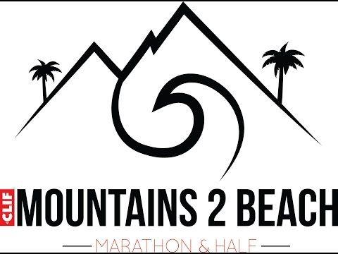 Clif Mountains 2 Beach Marathon Your Socal Boston Qualifier