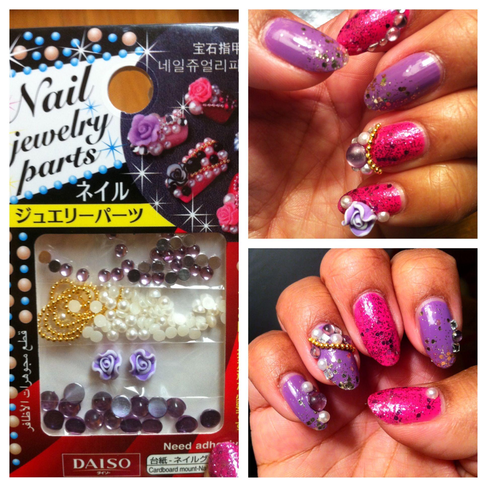 3d Nail Art Kit From Daiso Nails Pinterest Nail Art Kits