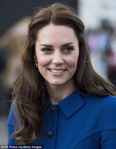 Last week, on a visit to Child Bereavement UK, Kate's hair was noticeably more voluminous,...