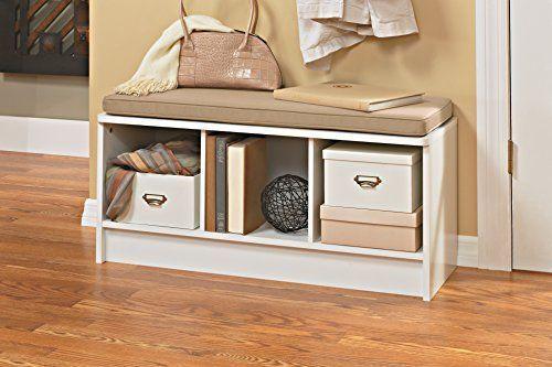 Wonderful Zoxoro.com.au   ClosetMaid Cubeicals 3 Cube Storage Bench, White