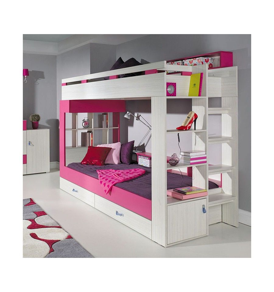 lits superpos s daxi lit superpos d coration et design chambre d 39 enfant lit pinterest. Black Bedroom Furniture Sets. Home Design Ideas