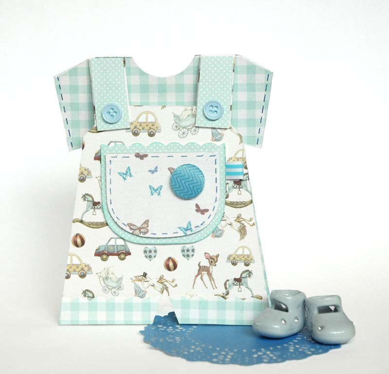 It S A Boy Baby Dungaree Card Tutorial With Free Craft Template Baby Boy Cards Boy Cards Baby Cards