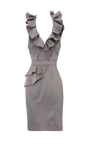 Love this gray dress!