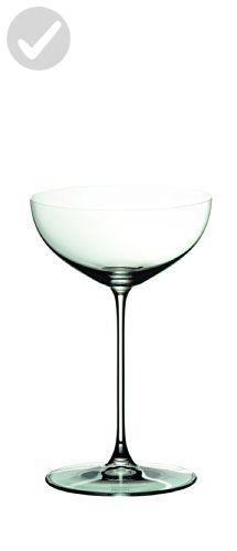 Riedel Veritas Moscato/Coupe/Martini Glass, Pack of 2 - Bar equipment (*Amazon Partner-Link)