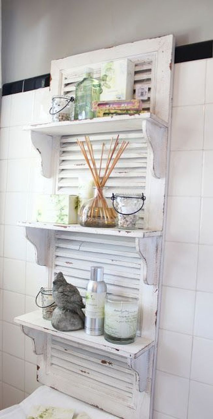 Create the Perfect Shabby Chic Kitchen With Some Wonderful Looking Shabby Chic Shelves