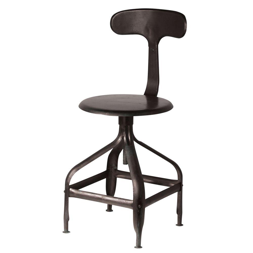 Chaise noire indus Tlgraphe 99 factory Pinterest Chaises
