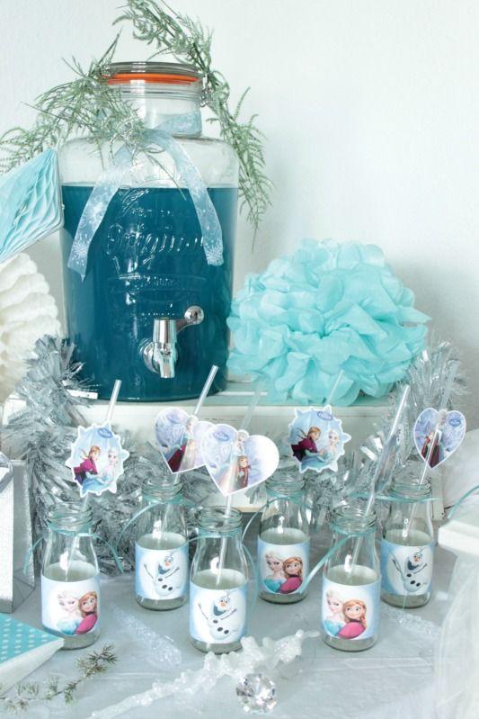 Eiskönigin Party - tolle Ideen für euren Kindergeburtstag
