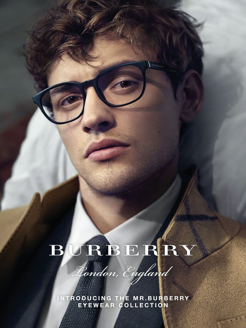 90c06c91b2f2 Burberry introduces the new Eyewear Collection - Burberry's new collection  of sunglasses and optical frames for men, inspired by Mr. Burberry.